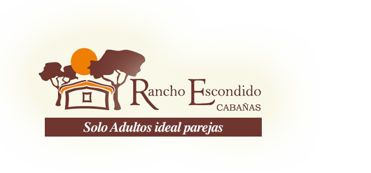 logo caba�as rancho escondido en mina clavero